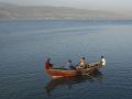 Štvorica Haiťanov sa plaví