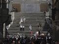Španielske schody v Ríme