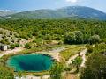 Rieka Cetina v Chorvátsku
