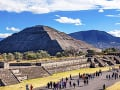 Slnečná pyramída, Mexiko