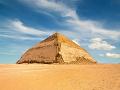 Lomená pyramída, Egypt