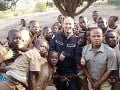 Školáci v západoafrickom štáte