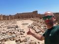 Leptis Magna v Líbyi