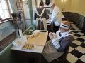 V dobovej cukrárskej výrobni