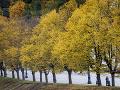 Jesenná atmosféra v litovskej