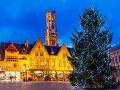Vianoce v meste Bruggy