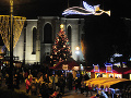 Vianočný stromček pred Františkánskym