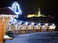 Vianočné mestečko na Svätoplukovom