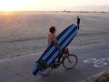 Pláž Venice v Los