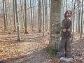 Na snímke drevená socha