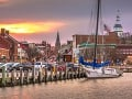 Prístavné mesto Annapolis za