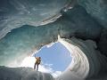 Ľadové jaskyne popri Icefields