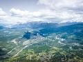 Whistlers Peak nad mestečkom