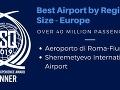 Najlepšie európske letiská nad