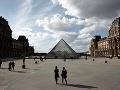 Múzeum Louvre vo francúzskom
