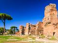 Kúpele Caracalla, Rím, Taliansko
