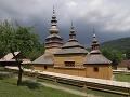 Zrekonštruovaný drevený gr.kat. kostolík