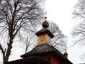 Gréckokatolícky drevený chrám v