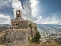 Citadela v mestečku Gjirokastër