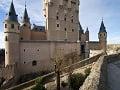 Alcázar v Segovii