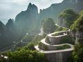 Pohorie Tianmen, Čína