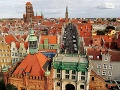 Pohľad na Gdansk z