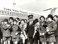 Historické fotografie posádky Turkish