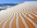 Na Sahare nasnežilo