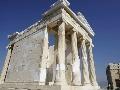 Zrekonštruovaný staroveký chrám Atény