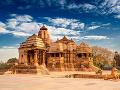 Chrámy v Khajuraho