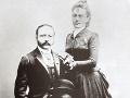 Cäsar Ritz s manželkou