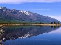 Jazero Bajkal na východe