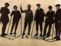 Prvé lyže na Slovensku