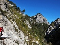 Prírodná rezervácia Ötscher-Tormäuer leží