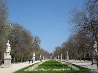 Park El Retiro, Madrid,
