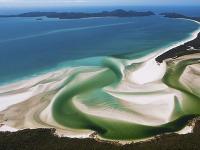 Pláž Whitehaven, Austrália