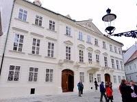 Mirbachov palác je zreštaurovaný
