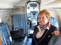 Palubná sprievodkyňa Anna Gorodovová