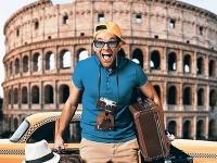 Taliansko: Taxikárom v Ríme