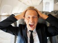 Let hrôzy: Pri turbulenciách