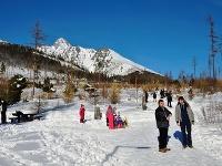 Návštevníci Vysokých Tatier počas