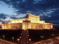 Budova parlamentu v Bukurešti