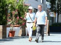 Janko Kuric s manželkou