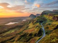 Quiraing , Škótska vysočina