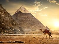 Pyramídy v Gíze, Egypt