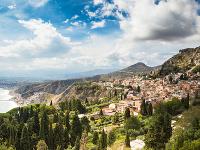 Taormína, Sicília, Taliansko