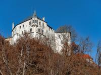 Ľupčiansky hrad nad obcou