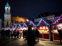 Vianočné trhy v Bratislave