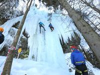 Zimná atrakcia Kremnice: Na Skalke pripravili pre milovníkov adrenalínových športov ľadopád