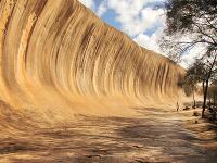 Morská vlna, ktorá sa ani nepohne: Wave Rock patrí k najúchvatnejším dielam prírody
